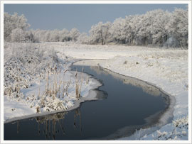 Winter in Ostfriesland